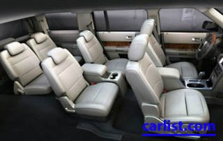 2009 Ford Flex CUV interior