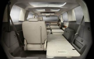 2009 Ford Flex has a lot of storage space