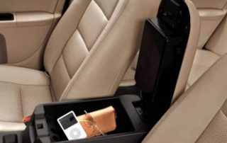 the center console