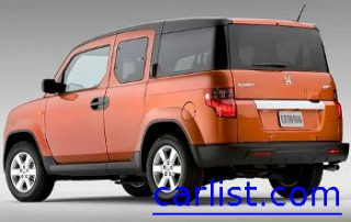 2009 Honda Element rear shot