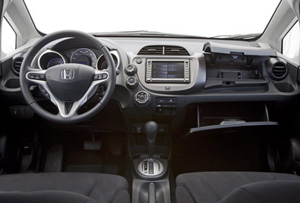 the instrument panel includes average mpg