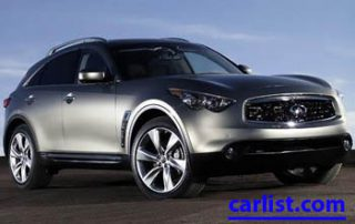 2009 Infiniti FX50 front view