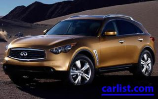 2009 Infiniti FX Series CUV front view