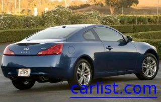 2009 Infiniti G37 Coupe from the side