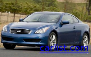2009 Infiniti G37 Coupe front shot
