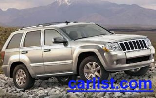 2009 Jeep Grand Cherokee front view