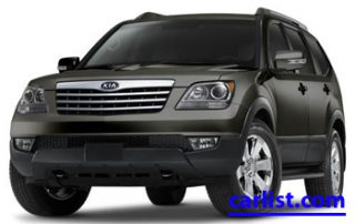 2009 Kia Borrego front view