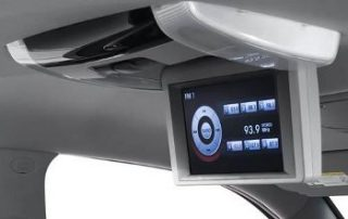 built in LCD screen will keep your passengers happy