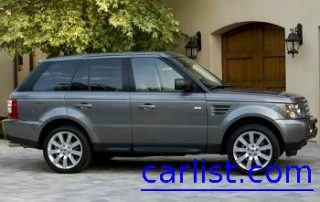 2009 Land Rover Range Rover Sport from the side