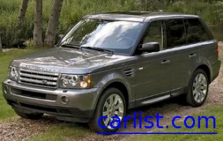 2009 Land Rover Range Rover Sport front view