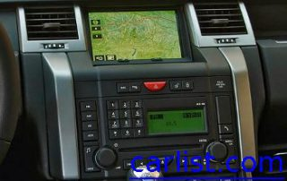 2009 Land Rover Range Rover Sport has all the setups for offroad navigation