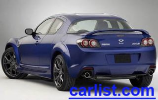 2009 Mazda RX-8 rear view