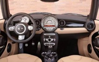 2009 MINI Cooper Clubman has a surprisingly large interior
