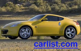 2009 Nissan 370Z Coupe front view