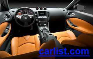 2009 Nissan 370Z Coupe interior