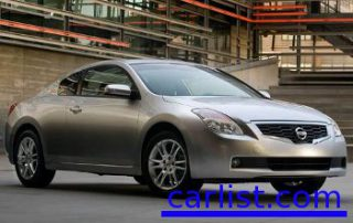 2009 Nissan Altima Coupe front view