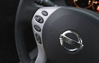 a full service steering wheel