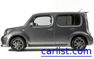 2009 Nissan Cube from the back