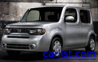 2009 Nissan Cube front view