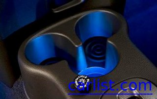 2009 Nissan Cube light up cup holders