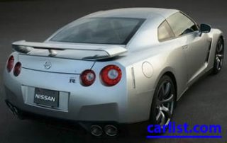 2009 Nissan GT-R Super Coupe front view rear shot