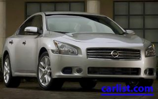 2009 Nissan Maxima front view