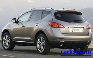 2009 Nissan Murano LE rear shot