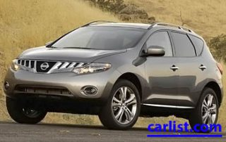 2009 Nissan Murano LE front view