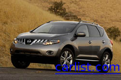 2009 Nissan Murano on a typical day