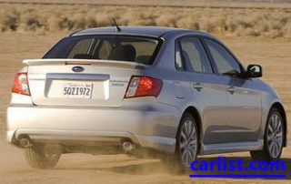 2009 Subaru Impreza rear shot