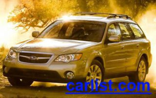 2009 Subaru Outback front view