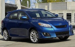 The 2009 Toyota Matrix is sporty and powerful.