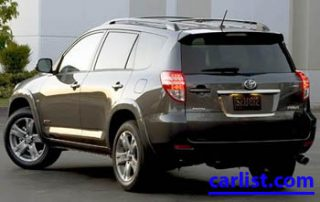 2009 Toyota RAV4 CUV rear shot