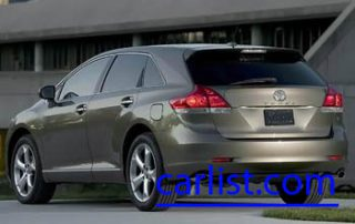 2009 Toyota Venza V6 rear shot
