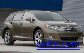 2009 Toyota Venza V6 front view