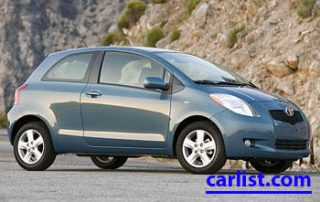 2009 Toyota Yaris front view