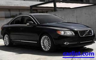 2009 Volvo S80 AWD from the front
