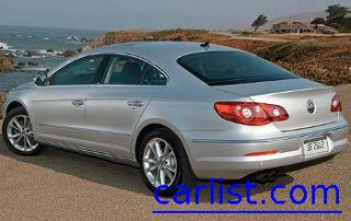 2009 Volkswagen CC rear shot