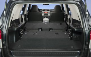Flip-down rear seats translate into plenty of room for cargo
