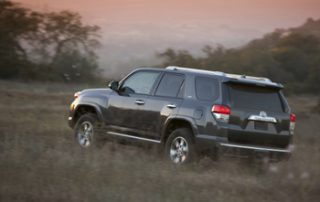 The 4Runner is unapologetically a substantial vehicle