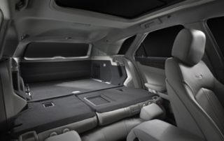 2010 Cadillac CTS Sport Wagon second seat flush for cargo hauling