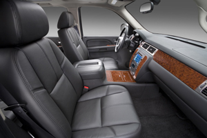 inside the 2010 Chevrolet Avalanche LTZ