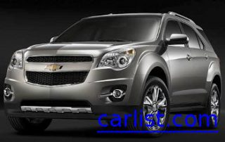 2010 Chevrolet Equinox from the front