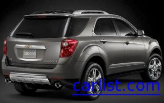 2010 Chevrolet Equinox side view