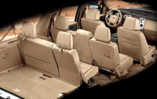 2010 Ford Expedition cargo and seating