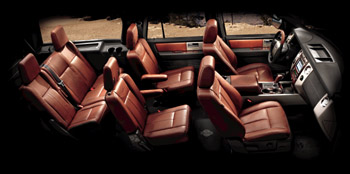 2010 Ford Expedition seating arrangement