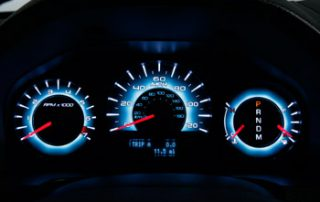 2010 Ford Fusion instrument panel