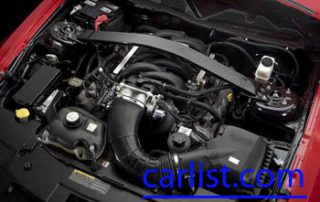 2010 Ford Mustang engine