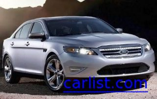 2010 Ford Taurus front shot