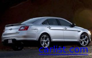2010 Ford Taurus from the side